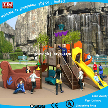 Exciting children outdoor playground Plastic giant water slide