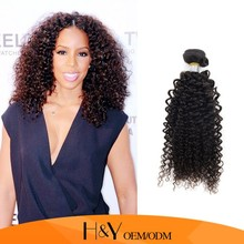 Afro kinky human hair 100% virgin hair mongolian kinky curly hair at cheap price on alibaba express