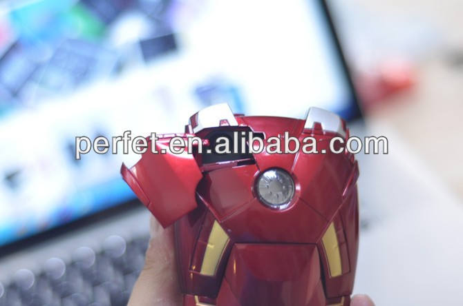 Iron Man Mark VII Collectible Toy Case For iPhone 4 4S 5 5S 6 6S - Avengers LED Armor