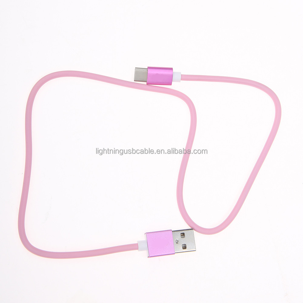 phone cables super 5Gbp Basic round USB 3.0 cable with type C to type A for 4k TV cell phone