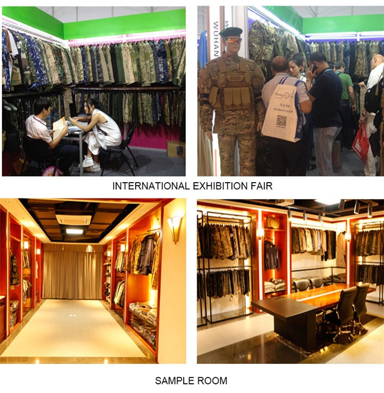 hot sale camouflage breathable military uniform history