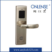 Hotel door key electronic t5557 card metering lock guangzhou