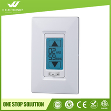 2017 most popular USA in wall digital touch screen 240v timer switch with ETL certificate