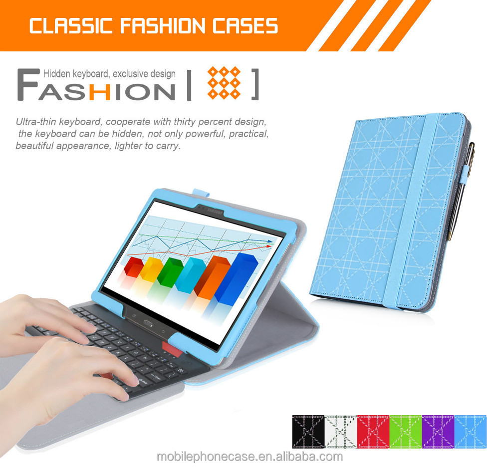 Bluetooth board case for samsung galaxy tab s 10.5