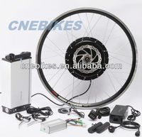 rear/front wheel 48v 750w /1000w hub motor electric bicycle kits with battery and fat bike tire