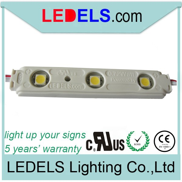 UL listed led lights with lens de 120 degree waterproof for display case lighting
