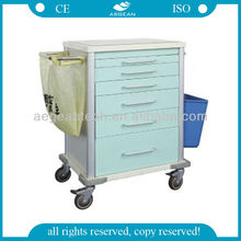 AG-MT025 high strength hospital medicine trolley supply