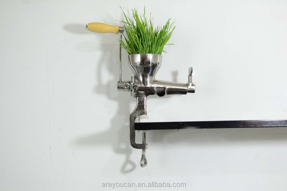 Manual WheatGrass Juicer,healthy wheat grass juicer