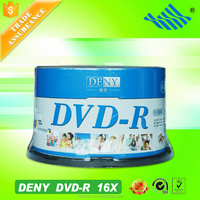 DENY full face inkjet printable dvd