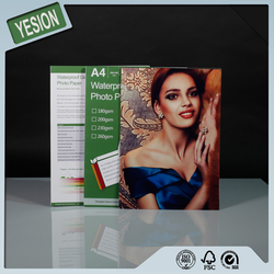 Yesion High Quality A4 High Glossy Inkjet Photo Paper, Factory Price 115gsm-260gsm Photo Paper For Fuji Minilab