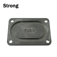 Sliver Painting Precise Aluminum Die Casting Cover for Machine Parts