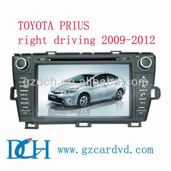toyota prius car dvd gps for TOYOTA PRIUS right driving 2009-2012 WS-9233
