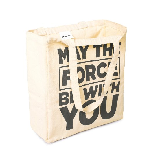 Fashion custom promotional 100 cotton gift bag