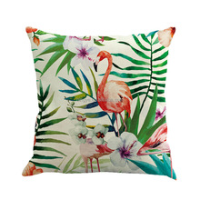 Flamingo 3D Printed Square customized Pillow Best Seller Cushion Covers custom pillow