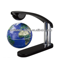 Home decor desktop rotating world globe, anti-gravity fllying globe, magnetic levitron rotating globe