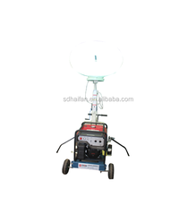 Top quality honda engine telescopic portable balloon light tower