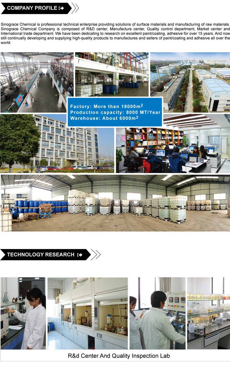 (PF-201) Water Based Liquid Proof Coating For Textile