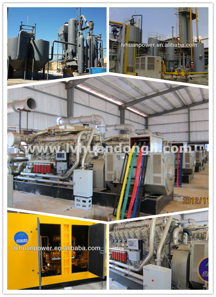 1mw biomass gasification power plant wood fired generator alternator price list