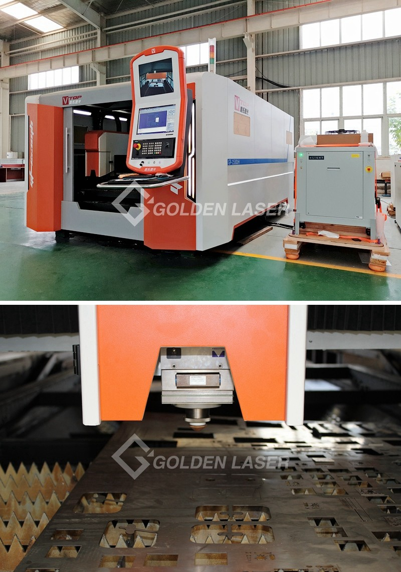 2000W 3000W 4000W Fiber Laser Cutting Machine for Carbon Steel with Double Pallet Changer