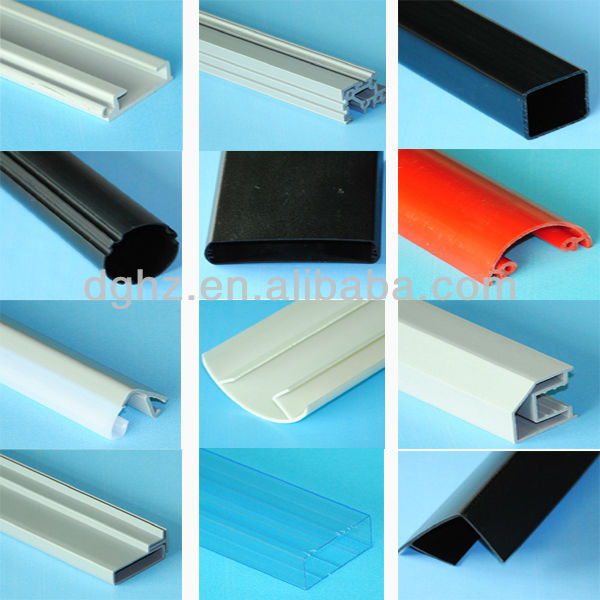 extruded plastic products for door frame
