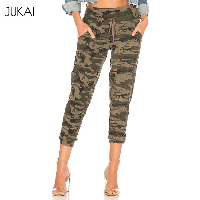 Wholesale New Fashion Camouflage Women Casual Pants