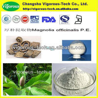Free samples organic magnolia officinalis bark extract powder