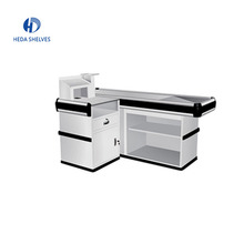 Durable Using supermarket design supermarket cashier counter table