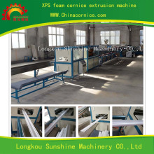 Full Automatic Foamed extruded PS cornice making machinery