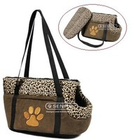 Soft plush pet bag pet carrier