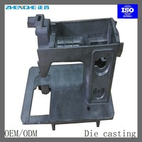 aluminum die casting sewing machine head housing sewing machine spare parts