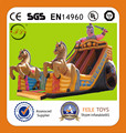 Popular inflatable carriage slide,inflatable dry slide,indoor slide,horses inflatable slide,China inflatable slide