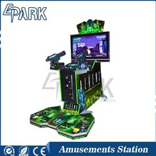 Fashion indoor gun Aliens shooting entertainment equipment for sale
