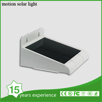 Solar light/Garden Waterproof Wireless Security Bright Motion Sensor Light for Outdoor Wall, Yard,Deck,Auto-On-Off