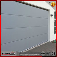 residential automatic folding safety steel garage entry doors