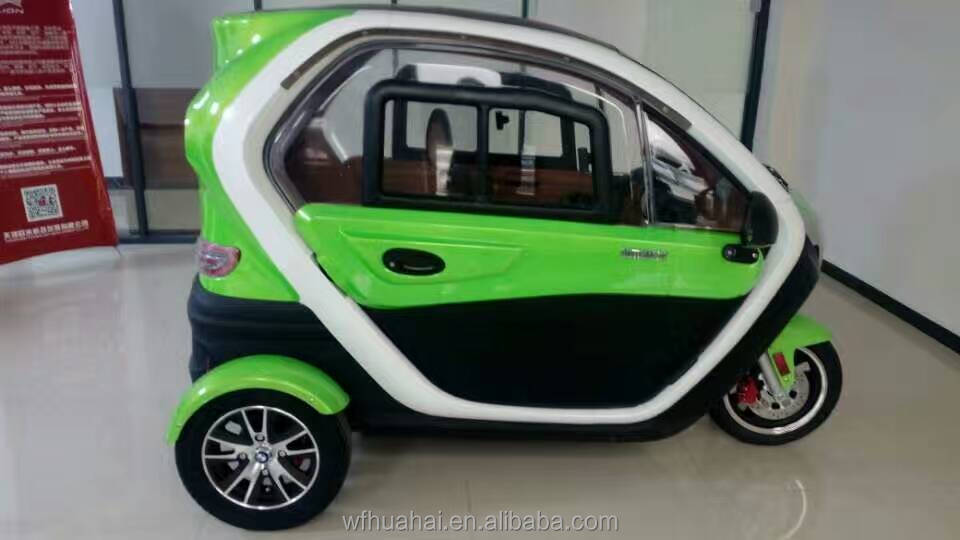 2017 Best Selling Elderly Three Wheel Passenger Car /Three Wheel Electric Mini Car