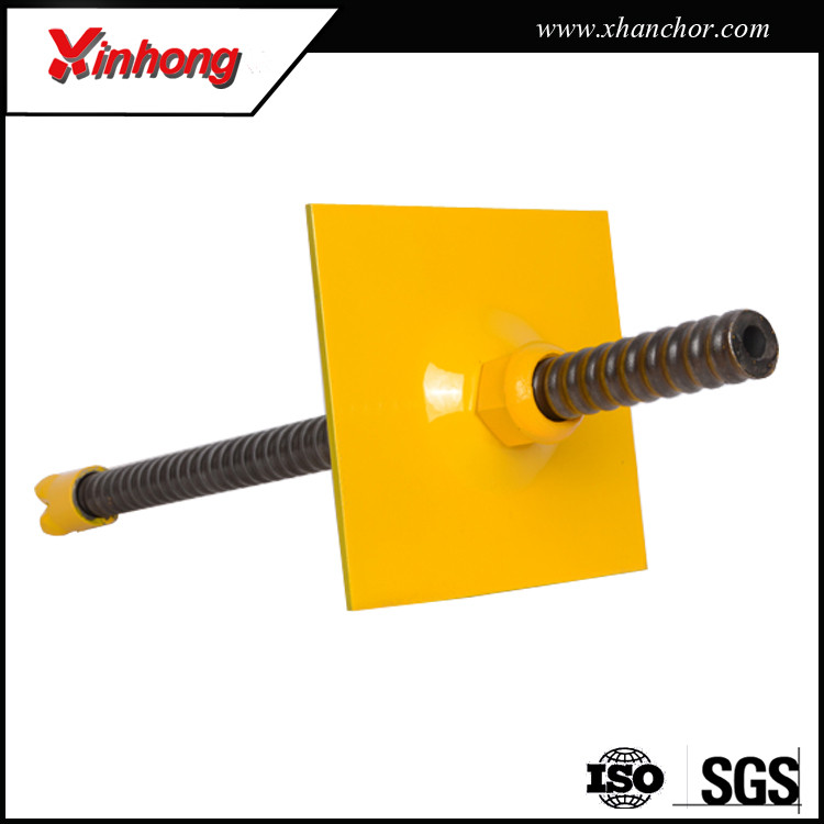 Good price of geotechnical anchorage solution self drilling anchor bolts for hydroelectric