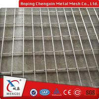 1/2 inch powder galvanized coated welded wire mesh fence panel