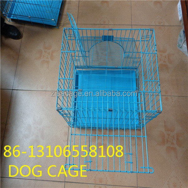 cheap price small pvc coated dog crate cage house ( skype:yolandaking666)