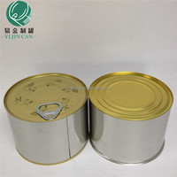 .canned meat/pork/beef tin can,food-grade tinplate,0.23mm thick size dia99*58hmm