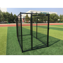 Hot-dipped galvanized 1.8m height customized welded mesh Dog wire Kennel/large dog kennel
