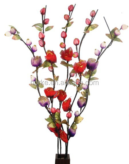 2014 Hot Artificial Wooden Stick Dried Flowers