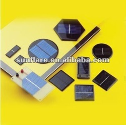 round square small size solar panel, power & size customized