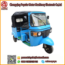 Popular Passenger 200Cc Three Wheel Motorcycle Moto Taxi For Sale,Automatic Trike Motorcycle,Rickshaw Electric