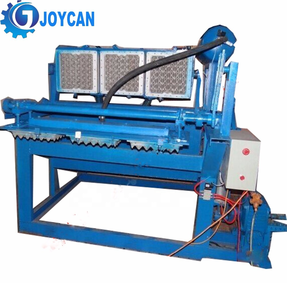 Good performance waste paper recycle egg tray machine with drying system