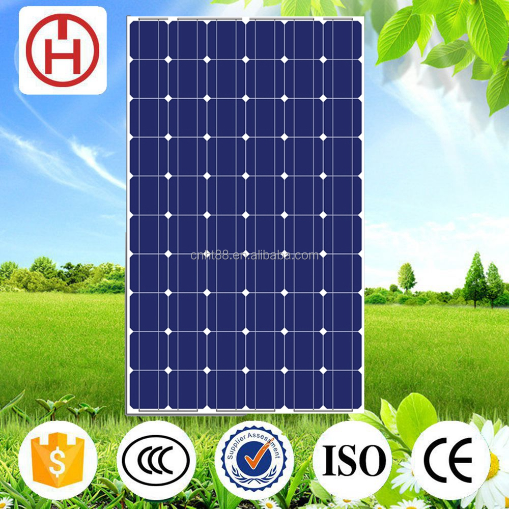high efficiency 250 watt photovoltaic solar panel