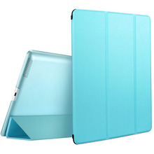 2018 hot selling leather flip plastic smart stand cover tablet case for iPad mini 2 3 4 Air 2 Pro