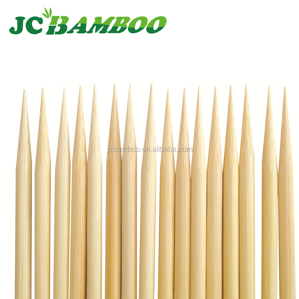 color beaded disposable fruit bamboo stick