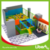 customized indoor mini trampoline with foam pit for kids
