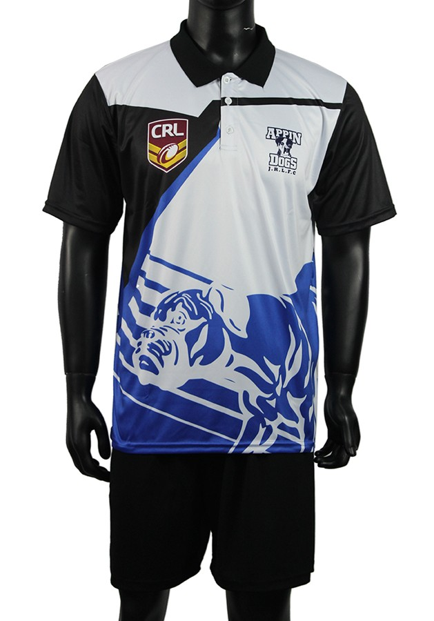 Casual sport custom sublimation polo t shirt with OEM service