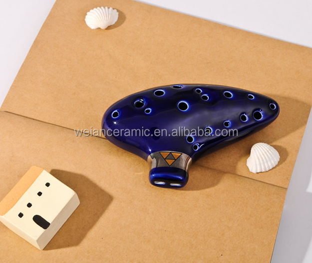 16 holes ocarina zelda for musical instrument